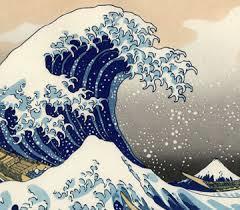 K. Hokusai (1760 - 1849): La Grande Onda