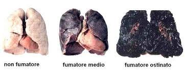 polmone sano e malato