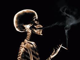 sigaretta scheletro