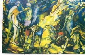 La zolfara, Renato Guttuso (part.)