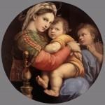 Madonna della seggiola, Raffaello, 1513/14
