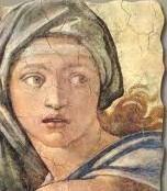 sibilla delfica, Michelangelo (part.)